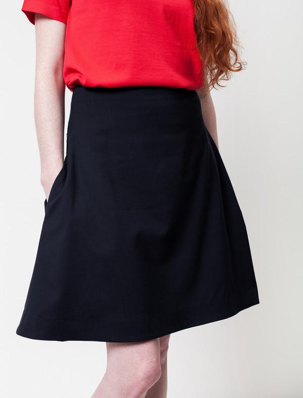 Derek Lam 10 Crosby Piana Wool Skirt