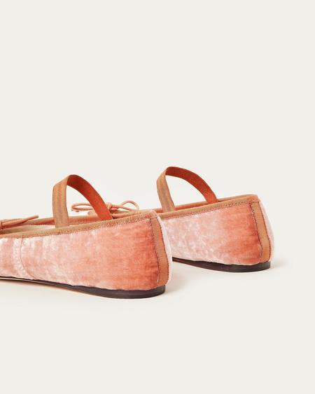 Loeffler Randall Leonie Ballet Flat - Salmon