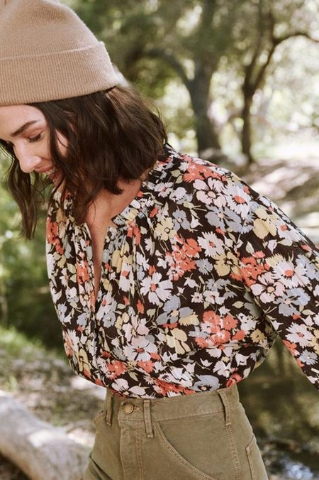 The Great. Forage Top - Meadow Floral