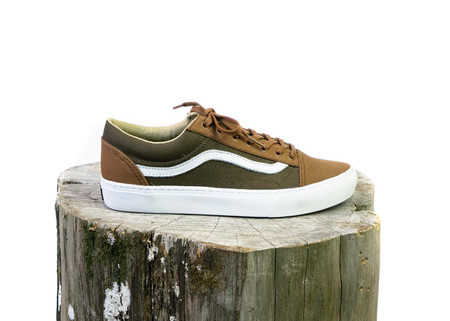 VANS Old Skool Cup+ (Surplus) Teak/Dachsund