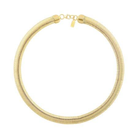 Electric Picks Cobra Necklace - 14K Gold Plated