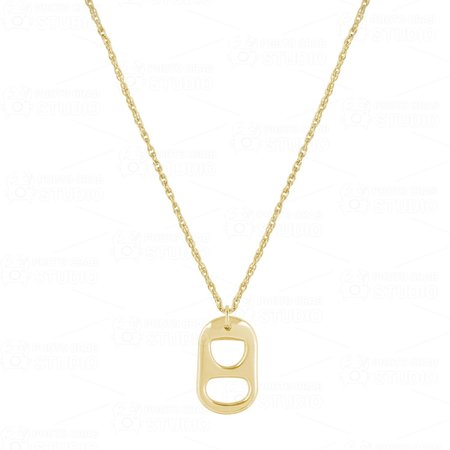 Electric Picks Pop Star Necklace - 14K Gold Fill
