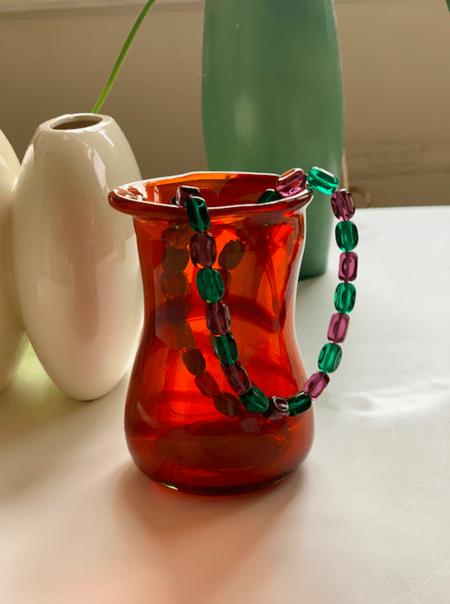 Modern Society Glass Bead necklace