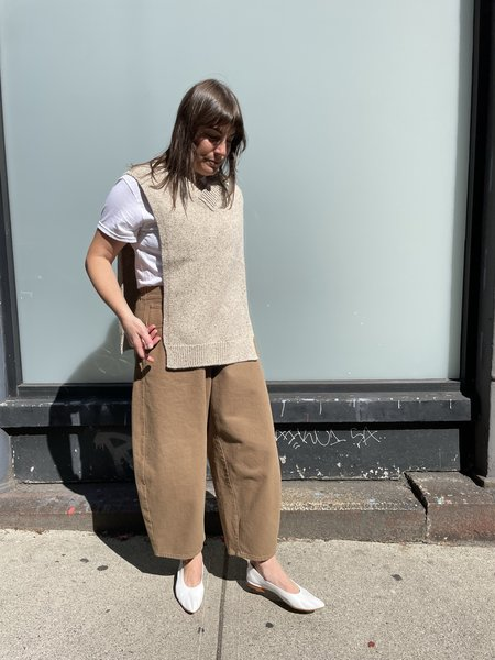 Monica Cordera Soft Wool Cape shirt