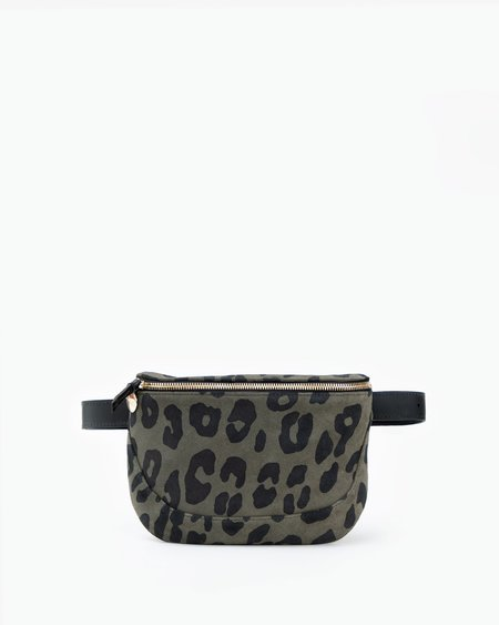 Clare V. Fanny Pack - Army Pablo Cat Suede