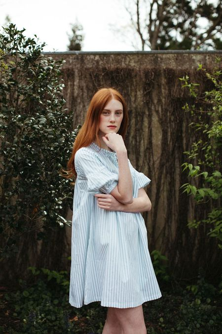 Mane Project Haven Dress - Blue Stripe