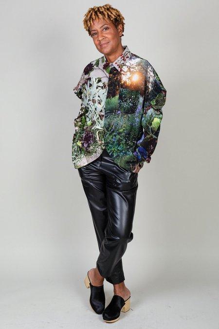 Anntian Sakko Blouse - Marienberg Herbs/Flowers
