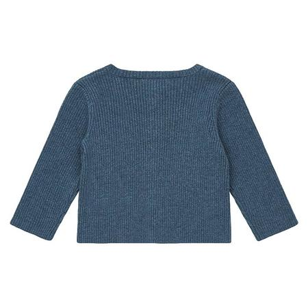 Kids Bonton Baby Minot Cardigan - China Blue