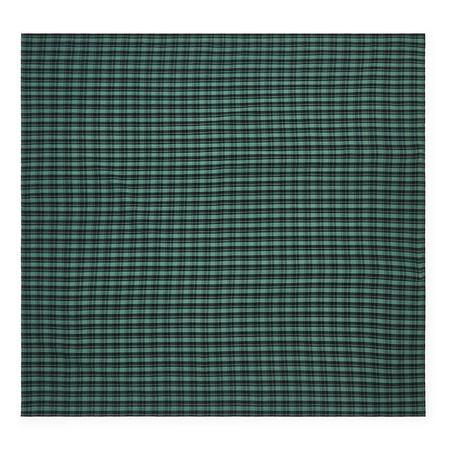 Kids Bonton Child Bandana Scarf - Green Checks