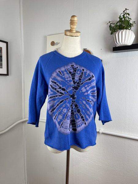 [pre-loved] Raquel Allegra Tie Dye Sweatshirt - Blue multi