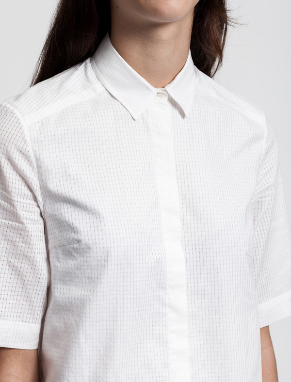 Thakoon Addition Ruffle Hem Shirtdress