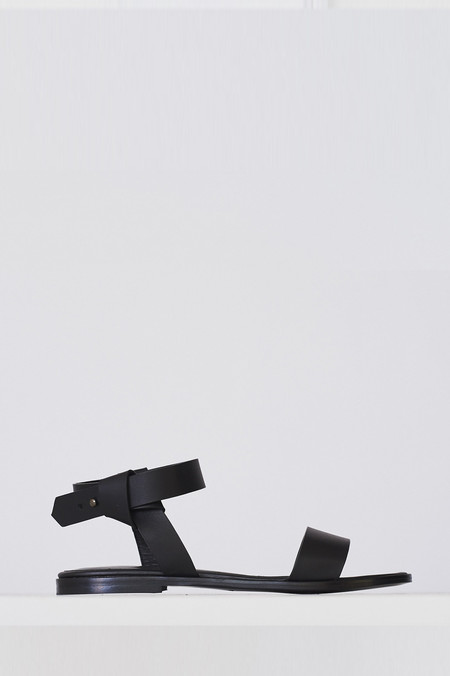 Megumi Ochi Leather Ligno Sandal