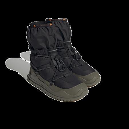 adidas by Stella McCartney Winter Women FZ4639 Boots - Cold.RDY Black/Dark Khaki/Acid Orange