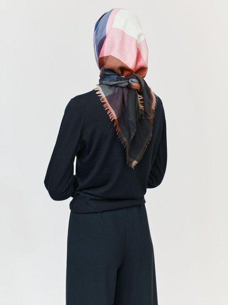 Épice Paris Wool Cashmere Square GW2141 Scarf - Black