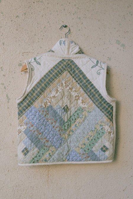 Jess Meany Garden Embroidery Ava Vest - multi