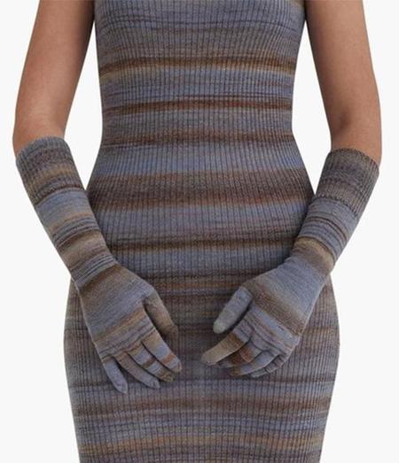 Paloma Wool Onawa Knit Gloves - Sky Blue