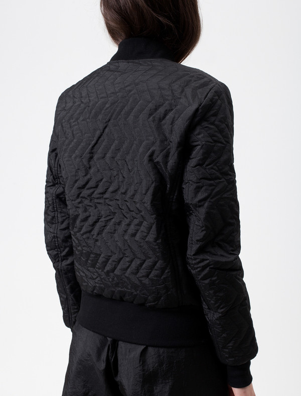 Christopher Raeburn Quilted Bomber Black