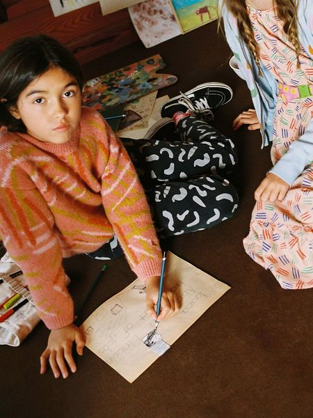 Kids Bobo Choses Shapes Kid's Jogger Pants - December Sky