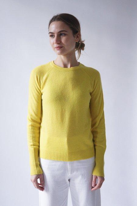 M.PATMOS Brighton Cashmere Pullover - Citron