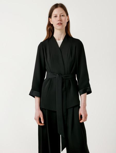 Catherine Quin Bennati Jacket + Belt - black