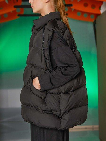 Henrik Vibskov Filo Vest Jacket - Black