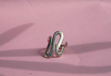 Luiny Undulations Ring - Brass