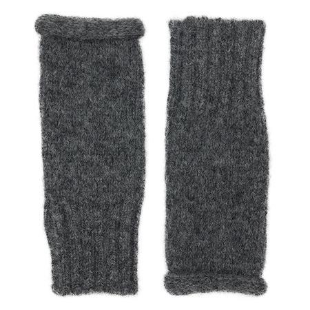 Megan Huntz Essential Alpaca Gloves - Charcoal
