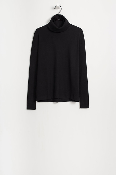 KOWTOW-RIB ROLL NECK TOP