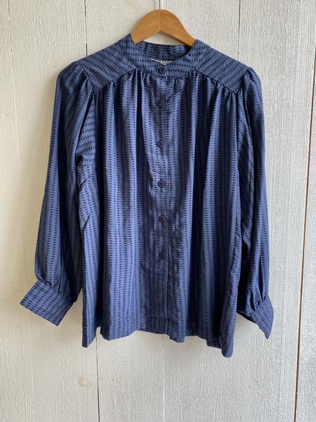 Conrado Luna Top - Blue Print