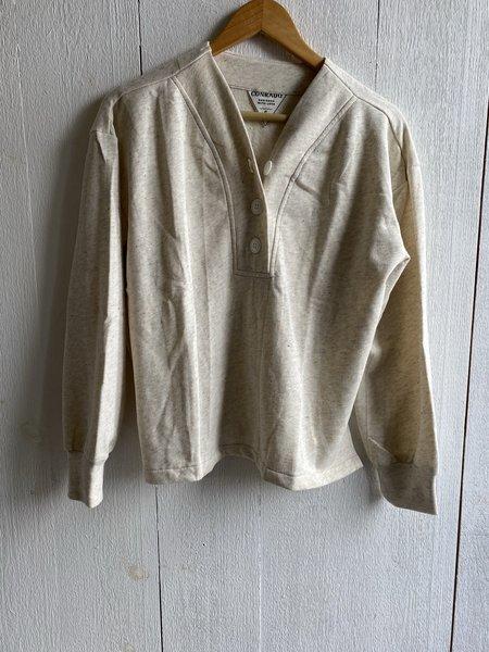 Conrado Storm Henley Sweatshirt - Cream