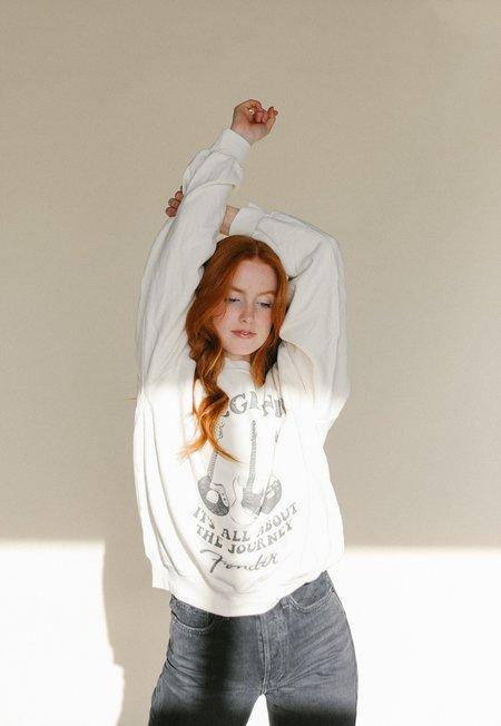 Daydreamer Fender Crew Sweatshirt - natural