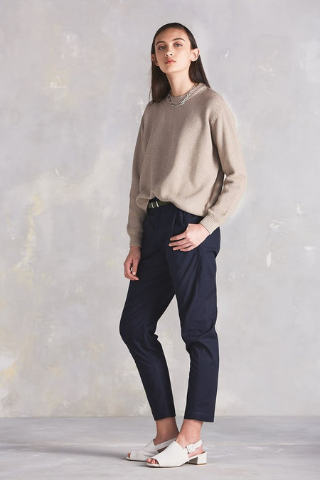 KOWTOW Out Of Sight Crew in Dark Oatmeal