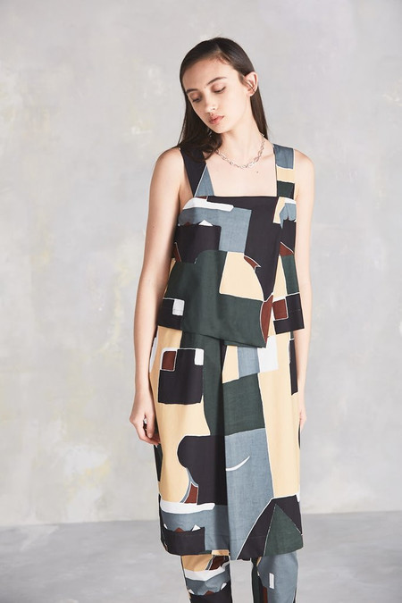 KOWTOW Shifting View Dress in Dreamscape