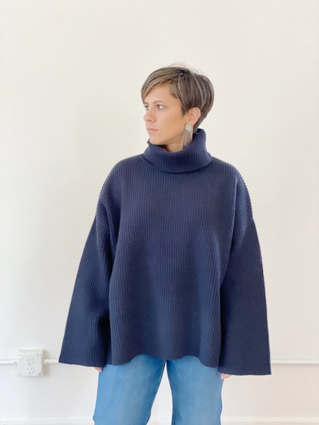 Demy Lee Cassidy Turtleneck Sweater - Inkwell