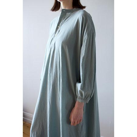 Ichi Antiquités Cotton Azumadaki Dress - Green