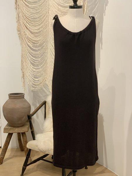Ete Noir 100% Pima Cotton Dress - BLACK