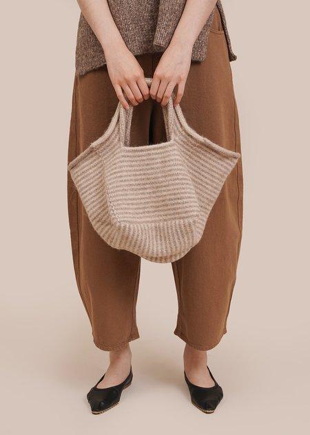 Lauren Manoogian Lines Knit Baby Bag