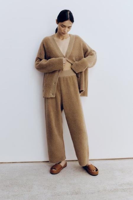 Monica Cordera Shearling Pants - Camel