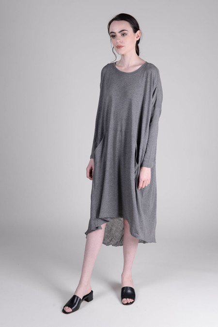 Raquel Allegra Grey Jersey Oversize Dress
