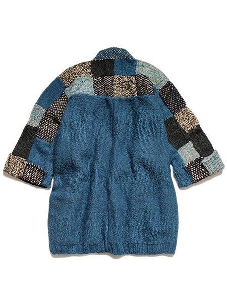 Kapital Wool Hand Knit TUGIHAGI KESA Cardigan - Navy