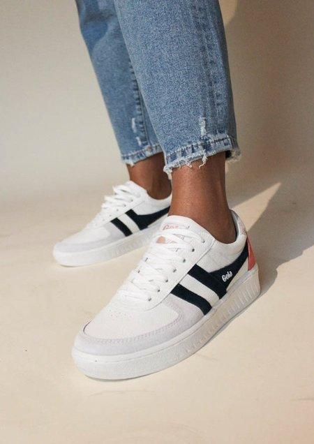 Gola Grandslam Trident Sneakers - WHITE