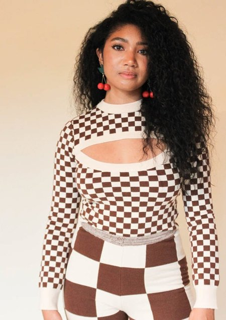 Find Me Now Presley Cut Out Sweater