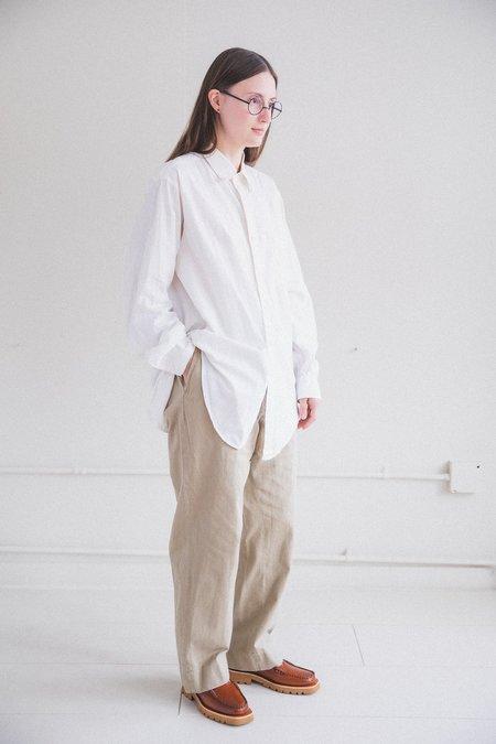 VINTAGE 01 DRESS SHIRT - white