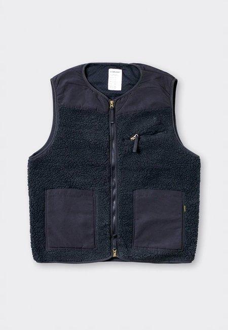 Stan Ray Fleece Layer Vest - black