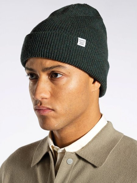 Norse Projects Norse Beanie - Forest Green