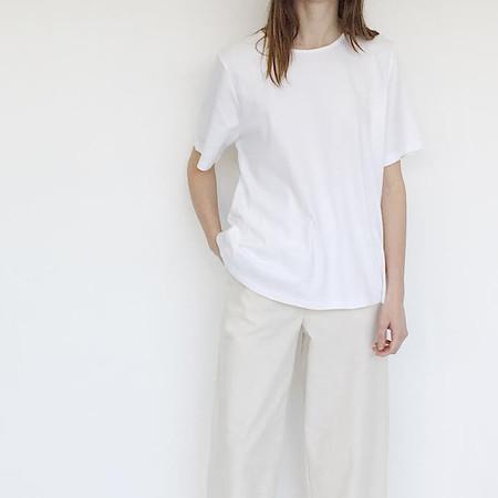 Johan Vintage Oversized White T-shirt
