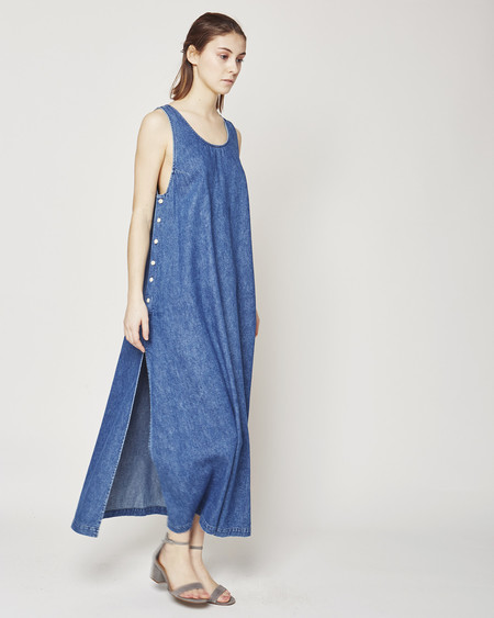 Ilana Kohn Jayna Dress in denim