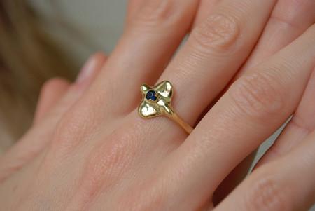Mondo Mondo Devi Ring - Brass