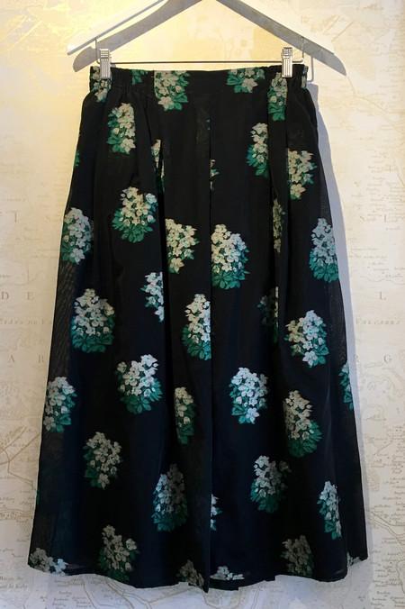 Roseanna Floral Print Pull On Full Skirt