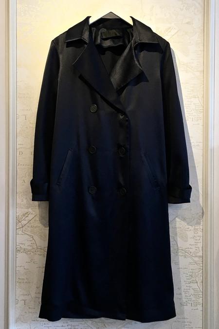 Jenni Kayne Silk Satin Trench Coat